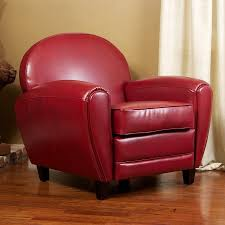shop best selling home decor david casual ruby faux leather club