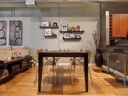 home design floating shelves dining room midcentury compact the