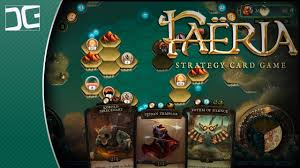 online cards faeria gameplay the online strategic trading card