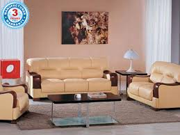 Sofa Seat Covers In Bangalore Buy Naylor 3 2 1 Leather Sofa Set Online In Chennai Bangalore