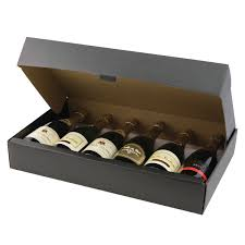 wine bottle gift box 6 wine bottle box black giftbagshop co uk