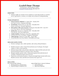 Barista Resume Sample by Starbucks Job Description For Resume Best Free Resume Collection