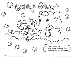 Count Color Pages In Pdf Guppies Colouring Pages To Print Soap Bubbles Coloring Pdf