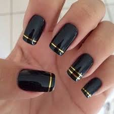 acrylic nail designs red and black