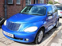 chrysler pt cruiser 2 4 limited 5dr blue auto leather a c 39 000