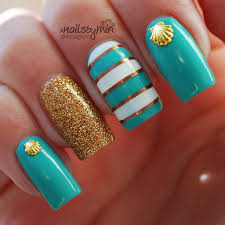 best 25 summer beach nails ideas on pinterest beach nails