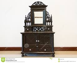 black antique dressing table stock photography image 28334762