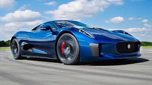 hybrid supercars top gear drives the jaguar c x75