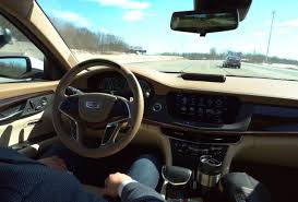 future cadillac the future is here first drive with cadillac u0027s new u0027super cruise