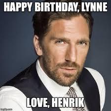 Happy Birthday Meme Creator - happy birthday henrik lundqvist meme generator imgflip