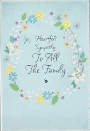 iparty wholesale sympathy cards to all the family from andersons