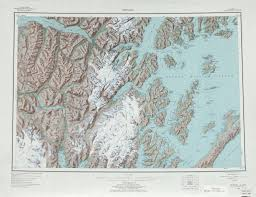Map Of Seward Alaska by Portage Glacier Highway