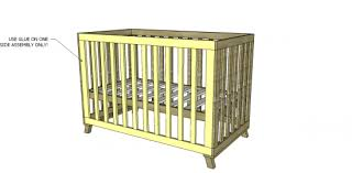 Free Cradle Furniture Plans by Free Diy Furniture Plans To Build A Land Of Nod Inspired Low Rise
