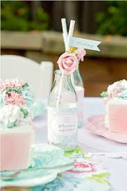 personalised little drinks bottles give a vintage feel to any