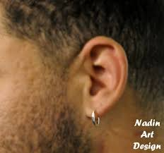 hoop earrings for men sterling silver unisex small hoops hoop earrings for men