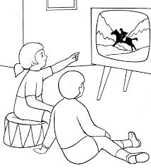 coloriage dessin enfants tele jpg dessins pour coloriage