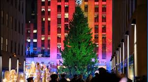 rockefeller center christmas tree lighting youtube