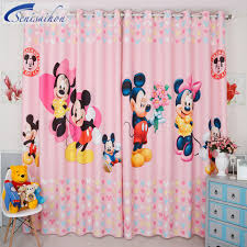 Mickey And Minnie Bathroom Curtains Mickey Mouse Shower Curtain Curtains Staggering