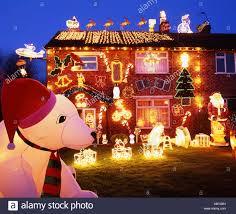 houses decorated christmas lights uk house decor