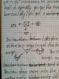 Writing On Graph Paper It Usually Starts With An Outline