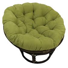 furniture papasan cushions circle wicker chair double papasan