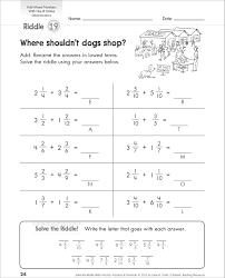 Mixed Fractions Worksheet Adding Unlike Fractions Worksheets Kelpies