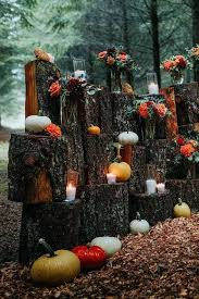 Fall Wedding Aisle Decorations - outdoor wedding decoration ideas for fall gallery pumpkins and