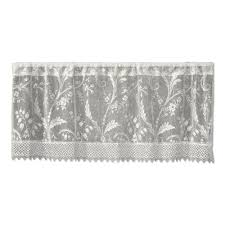 heritage lace curtains u0026 drapes window treatments the home depot