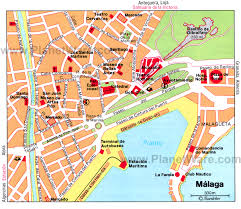 Granada Spain Map by Malaga Spain Cruise Port Of Call
