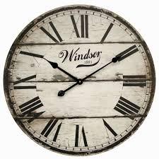36 lanier rustic wood wall clock wall clocks decoration