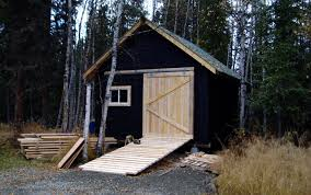 How To Build A Garden Shed Ramp by Outdoor Wood Storage Shed U2013 Ramp Tips To Avoid A Fatal Injury