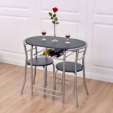 2 chair kitchen table set oval dining furniture sets ebay