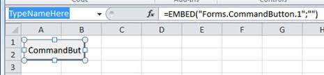 schaltfläche excel how do i change the name of a command button in excel user