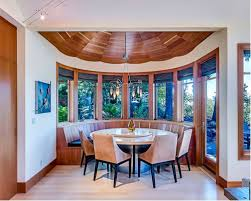 semi circle bench dining room ideas u0026 photos houzz