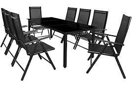 chaises salon de jardin salon de jardin ensemble table et chaises bern 8 et 1 en aluminium