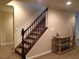 Stairs To Basement Ideas - stairs to the basement open staircase wood planked walls