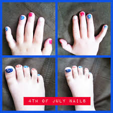 4th of july nails easy and patriotic american flag themed great