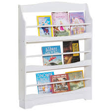 Sling Bookcase White by Guidecraft Expressions 3 Shelf Kids Bookcase White Nursery