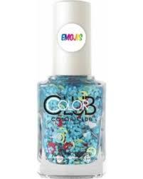 bargains on color club nailmoji nail lacquer chill 0 5 oz