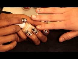 what color nail polish goes with a black red u0026 white dress