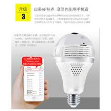 wifi camera light bulb socket china wetrendy hd bulb p2p wifi camera e27 socket option motion