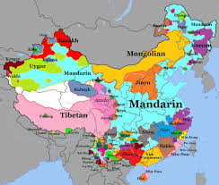 Maps Of China by Map Of Languages Spoken In China Pattern Structure Pinterest