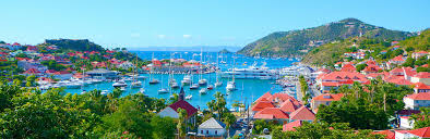 Map Of St Barts by St Barts Luxury Yacht Charter