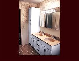 Refinish Vanity Cabinet Custom Vanity Cabinets Bath Cabinets Medicine Cabinets Wic