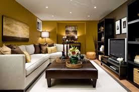 Family Room Design With Brown Leather Sofa Basement Family Room Decorating Ideas With Brown Leather Sofa Set