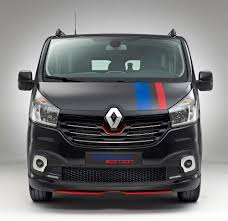 renault trafic 2016 interior renault trafic will get sporty