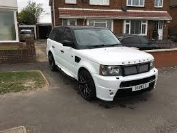land rover supercharged white range rover sport revere london kahn 4 4 v6 supercharged pearl