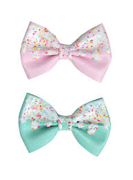 hair bows pink mint icing sprinkles hair bow set hot topic
