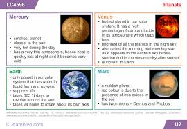 learnhive cbse grade 5 science our universe lessons exercises