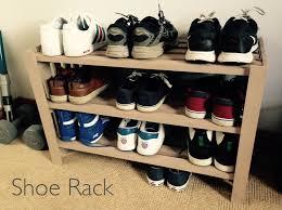 how to make a shoe rack youtube